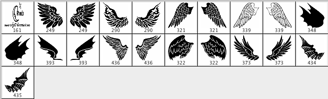 Angels And Demons Wings Brushes Download