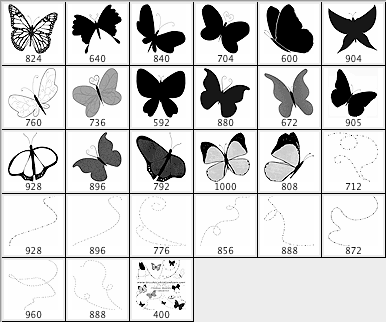 butterflies and trails Download