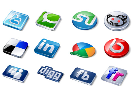 Free Amazing social icons Download