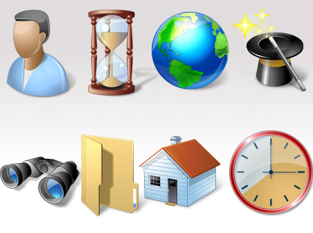 Free Vista Style Base Software Icons Download