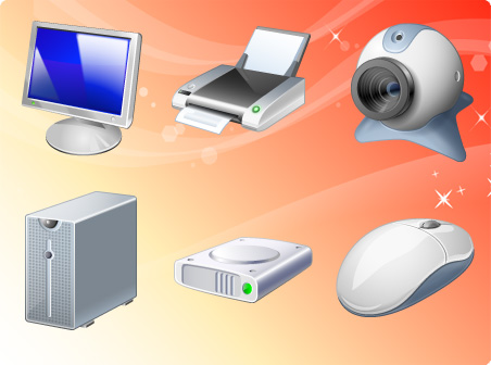 Free Computer Hardware Icons Download