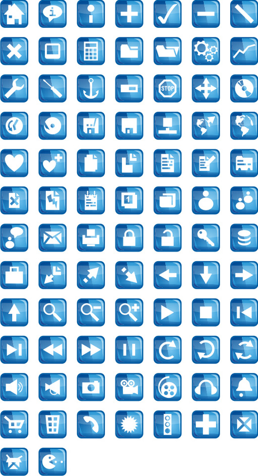 Free Blue Velvet Icons Download