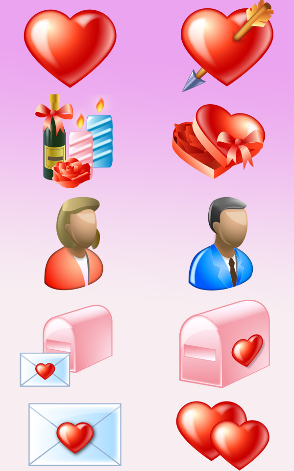 Free Delicious Love Icons Download