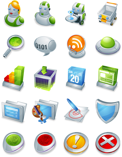 Free Futuristica Icons Download