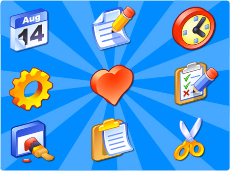 Free iCandy Junior Toolbar Icons Download