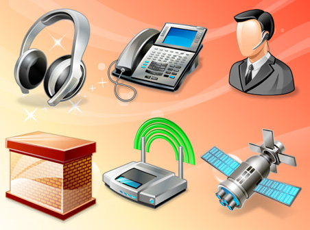 Free Vista networking icons Download