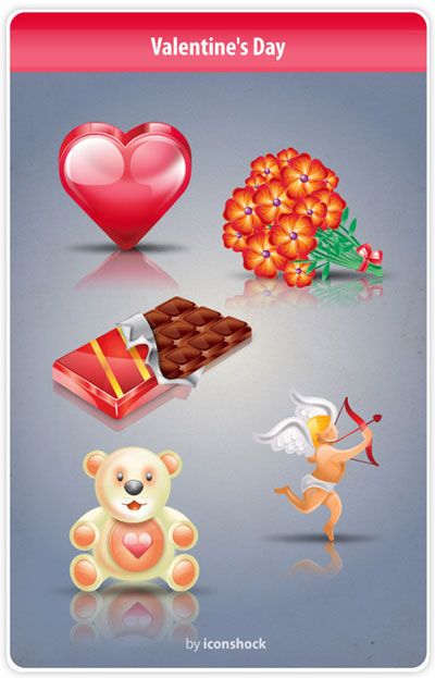 Free Icons: Saint Valentine's Day Icon Set