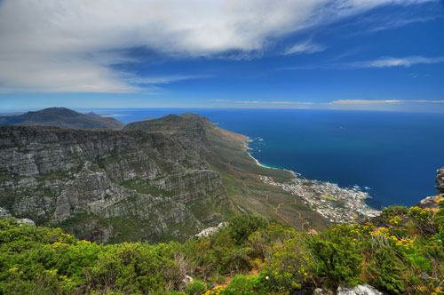 View from the East side of Table Mountain