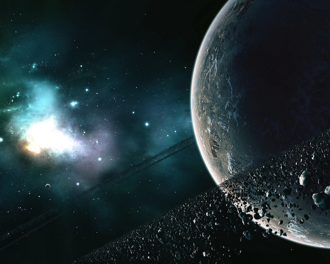 The ring of asteroids desktop wallpapers Download