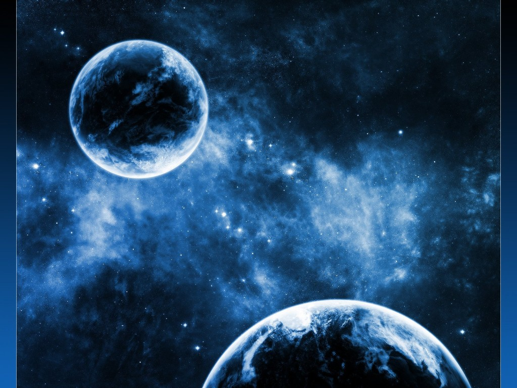 2 Planets Space desktop wallpapers Download