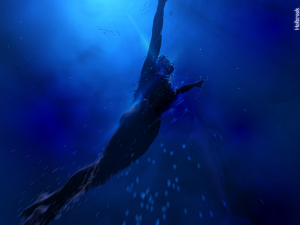 Swimming Girl wallpaper Download