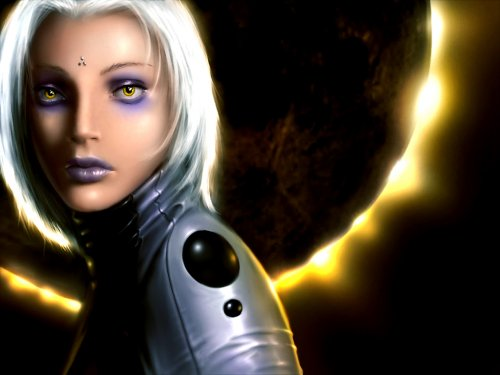 Girl with the Solaris wallpaper Download