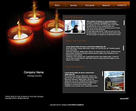 Free Website Templates, Free Web Templates, Flash Templates, Website ...