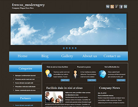 Metamorphosis design blog free css website template metamorphosis design blog free css website template freecssmoderngrey metamorphosis design blog pronofoot35fo Images