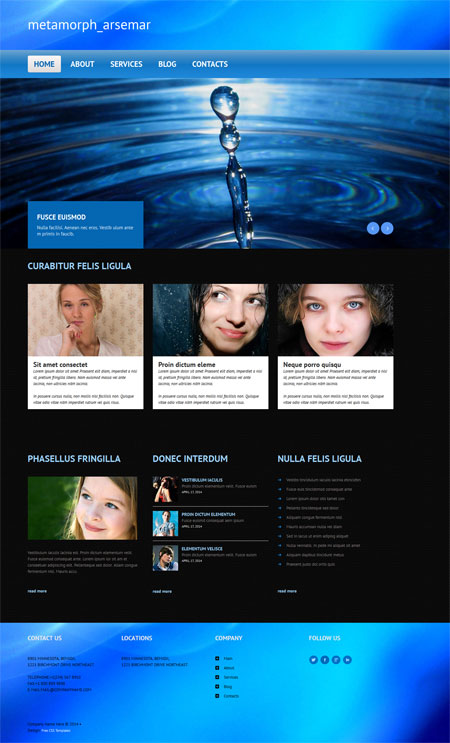 Free Website Templates, Free Web Templates, Flash Templates, Website