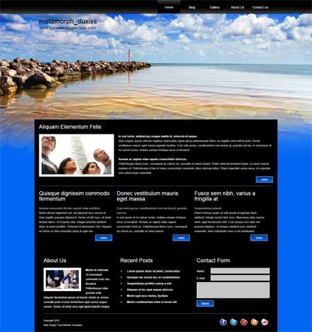 Free Website Templates, Free Web Templates, Flash Templates, Website ...