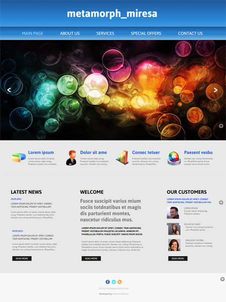 Website templates free website templates free web for Contact us template free download