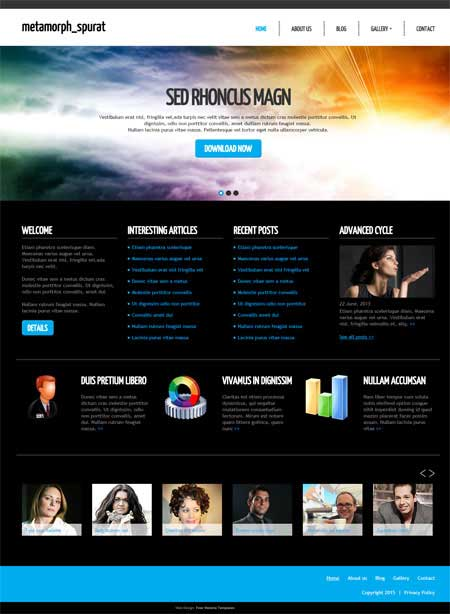 web design templates free download php - Acur.lunamedia.co