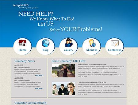 metamorphosis design blog free css website template template005