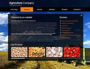 Agriculture Co. - HTML template