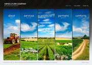 Agriculture - Easy flash templates