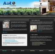 Air Conditioning - Website template