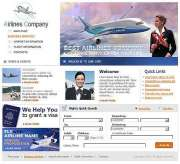 Airlines Company - Website template