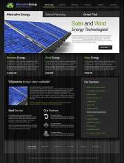 Alternative Energy - HTML template