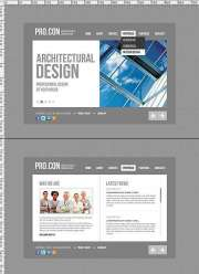 Architectural - HTML5 templates