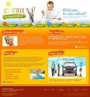 Art School - Website template