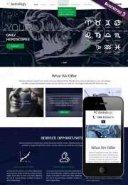 Astrology - HTML template