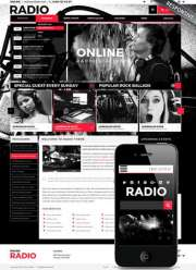 BW Radio - Wordpress templates