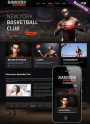 Basketball - HTML template