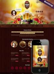 Beer Pub - HTML template