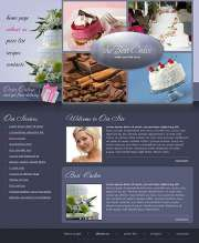 Best Cakes - Website template