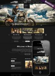 Bikers Club - HTML template