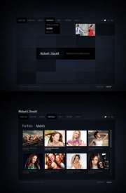 Black folio - HTML5 Gallery Admin