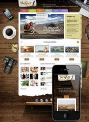 Blogger - Wordpress templates
