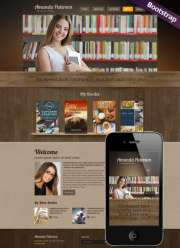 Book Writer - HTML template