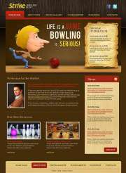 Bowling Club - Website template