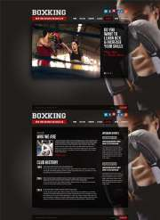 Boxing - HTML5 templates