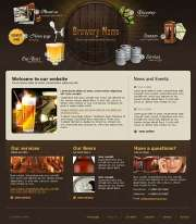 Brewery co. - Website template