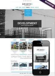 Build and construct - HTML template