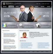 Business Company - Website template