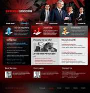 Business Red - Website template