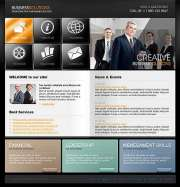 Business Solutions - Website template