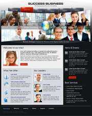 Business Success - Website template