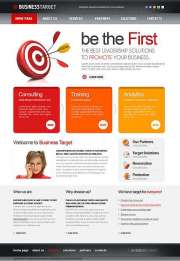 Business Target - HTML template