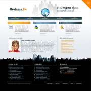Business co. - Website template