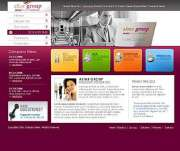 Business group - Website template